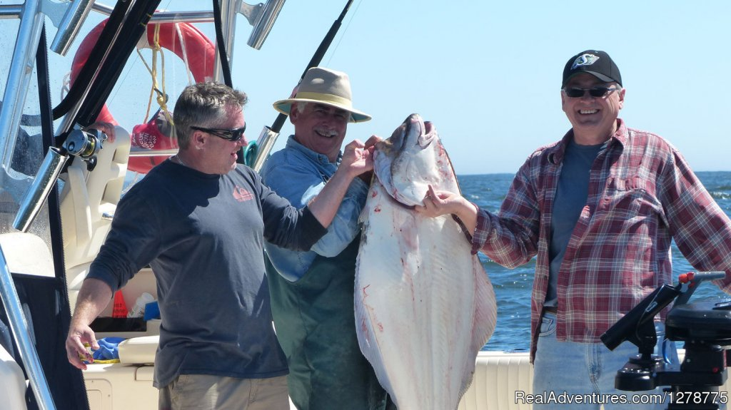 75lb Halibut | Image #11/11 | Wild Pacific Charters