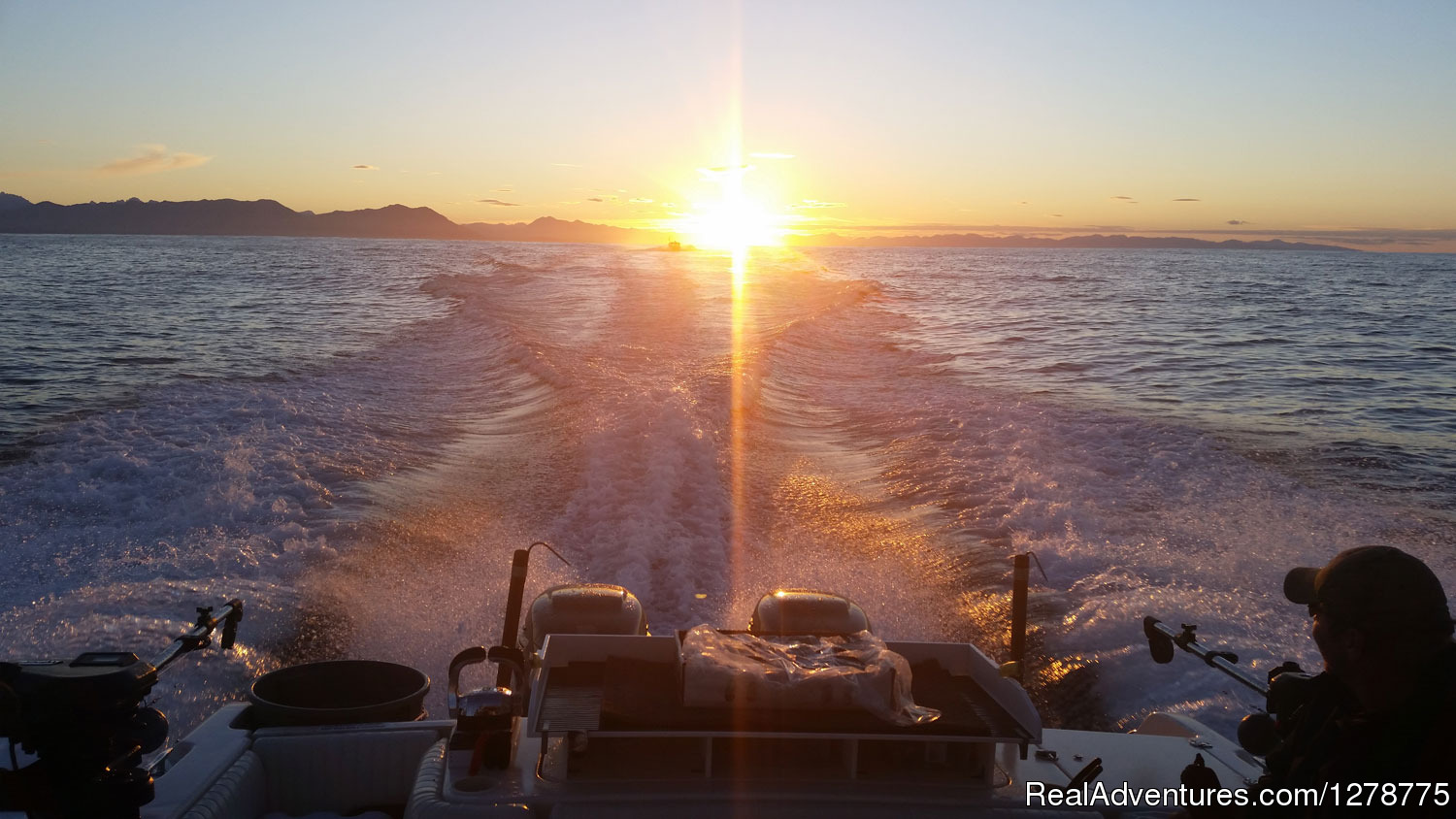 West Coast sunrise cruise