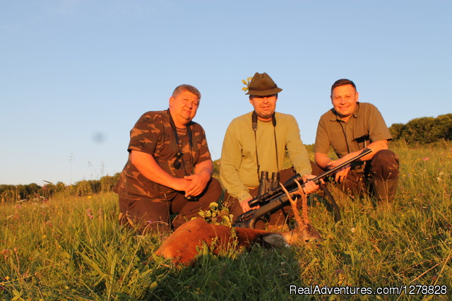 Carpathian chamois hunting in Romania - Big game hunting in Romania/B&D Carpathian hunting
