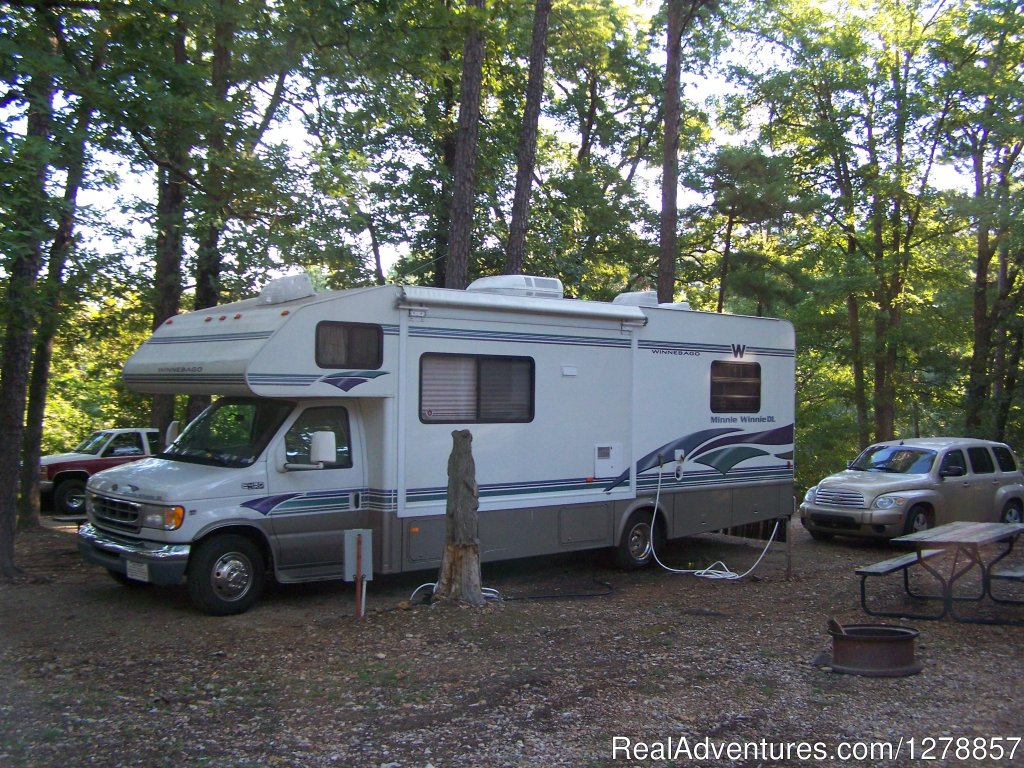 Lots of Trees and Shade | Image #3/3 | Kettle Campground Cabins & RV Park