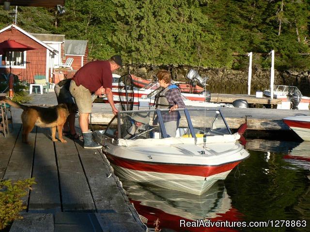 Rivers lodge dawson 39 s landing british columbia fishing for British columbia fishing lodges