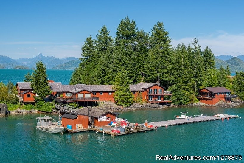 Nootka Island Lodge Nootka, British Columbia  Fishing Trips