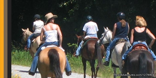 Group rides - Horseback Riding in Golden Ears with Equutrails