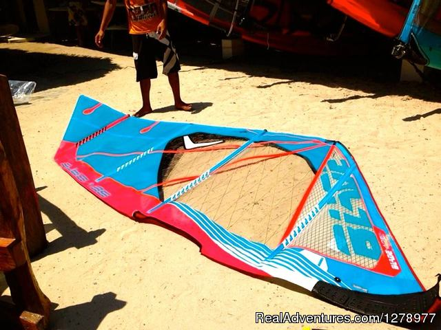 2014 Severne Sail - Blade - Windsurfing in Asia - Reef Riders Philippines