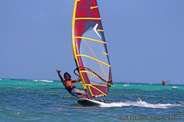 Windsurfing in Asia - Reef Riders Philippines Aklan, Philippines Windsurfing