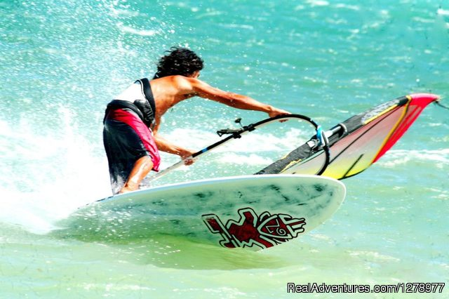 Reef Riders' windsurfing instructor - Windsurfing in Asia - Reef Riders Philippines