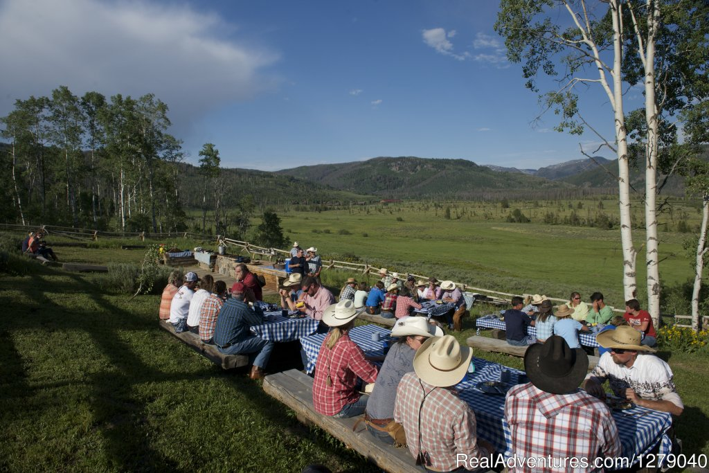 Summer Dude Ranch Cookout at Vista Verde Ranch