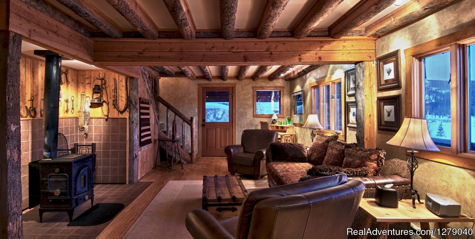 Luxury log cabin accommodations | Image #3/10 | Vista Verde Guest Ranch