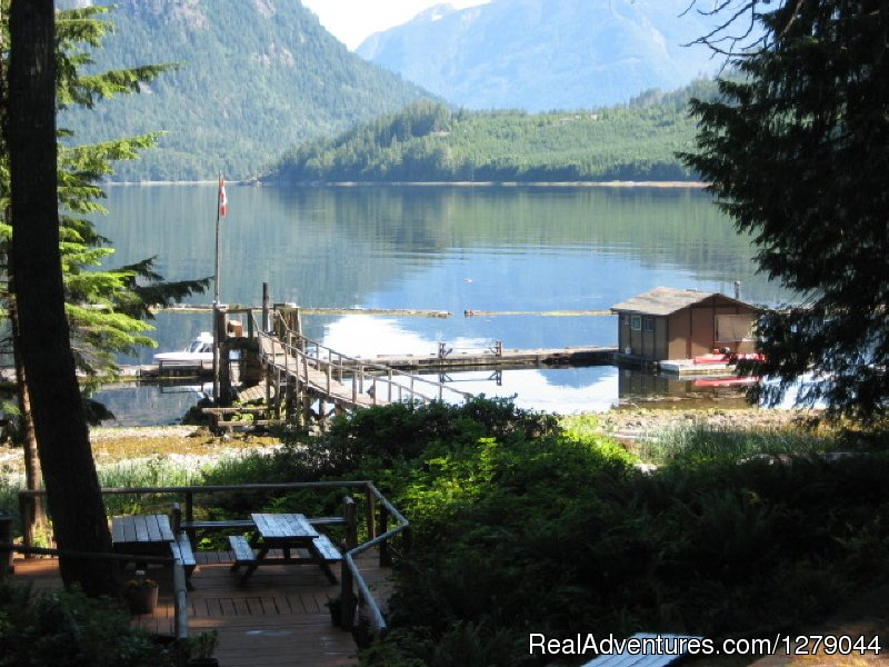 Docks and Narows Inlet | Image #3/26 | Tzoonie Wilderness Resort
