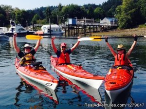Sunshine Kayaking - Sunshine Coast BC Gibsons, British Columbia Kayaking & Canoeing