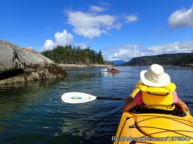 The Islands - Sunshine Kayaking - Sunshine Coast BC