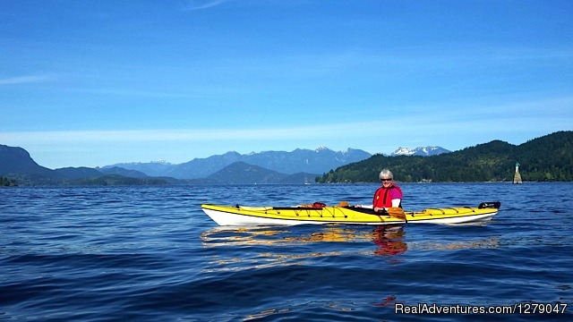 Howe Sound - Sunshine Kayaking - Sunshine Coast BC