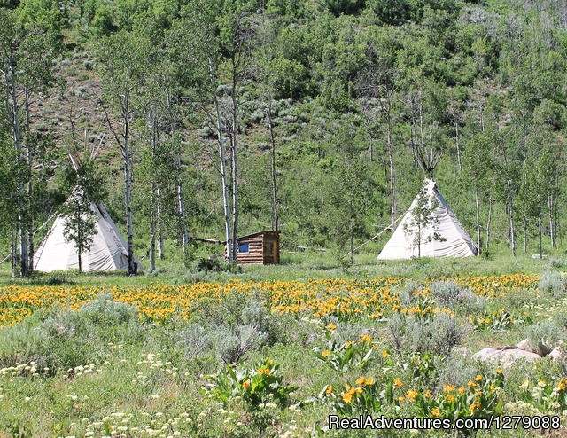 Teepees - Elk River Guest Ranch