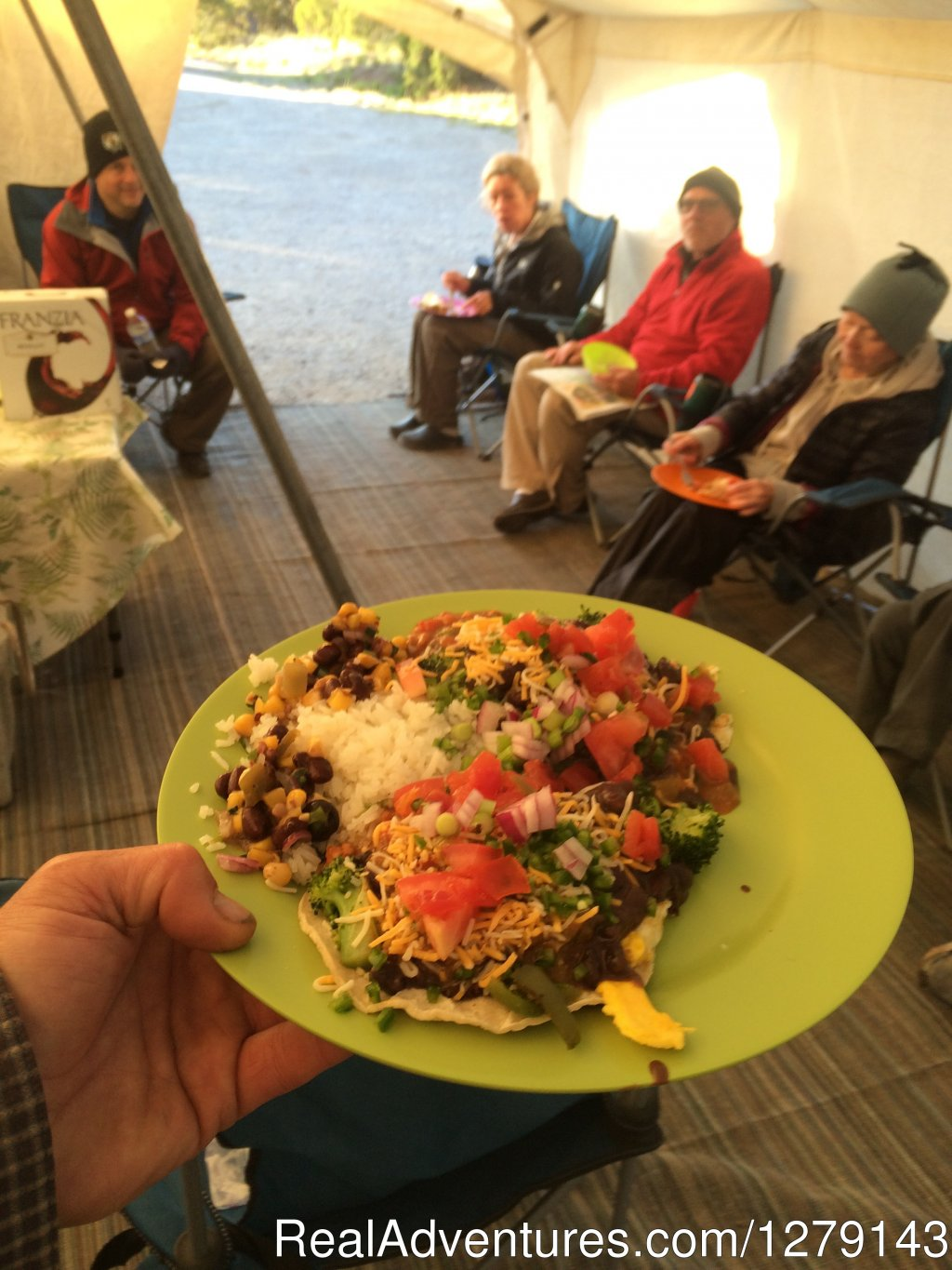 Mexican dinner | Image #1/9 | Hesperus, Colorado  | Hiking & Trekking | Colorado Trail Hiking