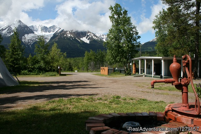 Glacier View RV Park & Cabin Rentals Campgrounds & RV Parks Smithers, British Columbia