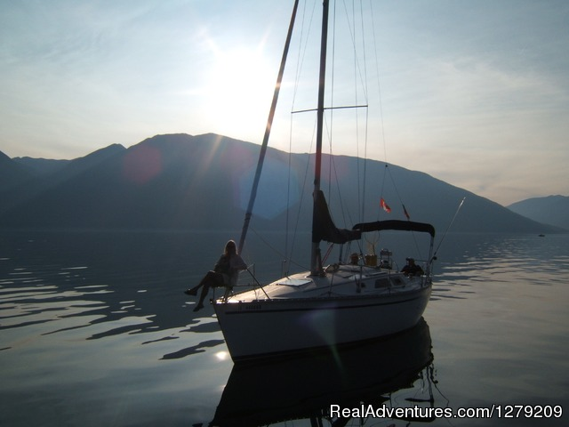 Kootenay Lake Sailing Charters Canada