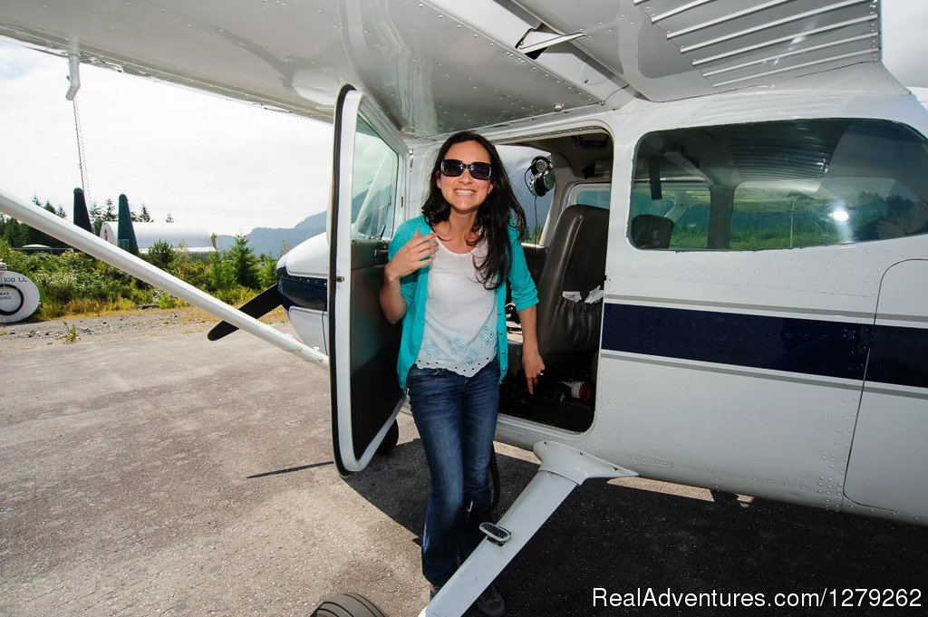 You can't beat smiling like this | Image #4/4 | Industry leading flightseeing with Sea To Sky Air