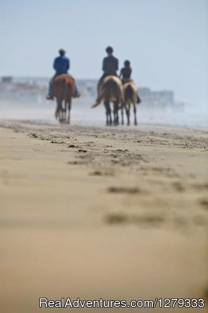 Ride to the Most Southwestern Point in Continental U.S. - Beach & Trail Rides by Horseback