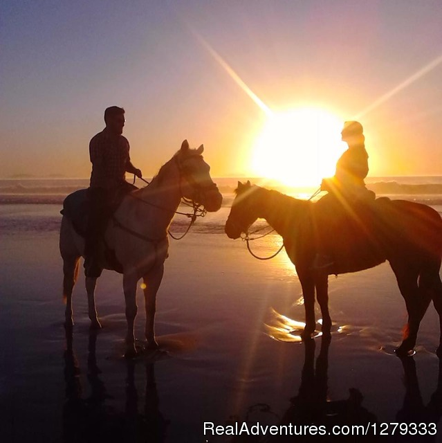 Romantic Sunset Beach Rides - Beach & Trail Rides by Horseback