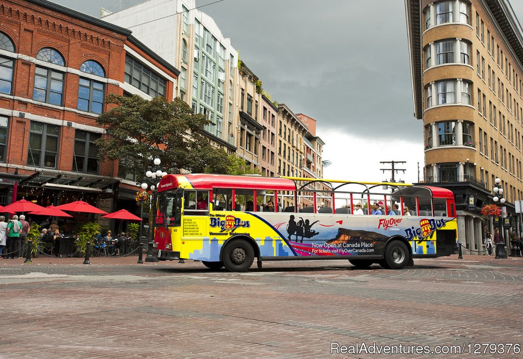 Big Bus in Gastown | Image #2/7 | Big Bus Vancouver