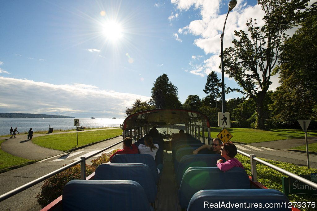 Open-top in English Bay | Image #4/7 | Big Bus Vancouver