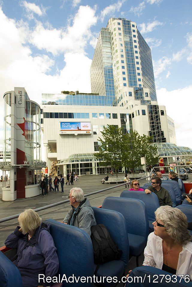 Open-top at Canada Place | Image #5/7 | Big Bus Vancouver