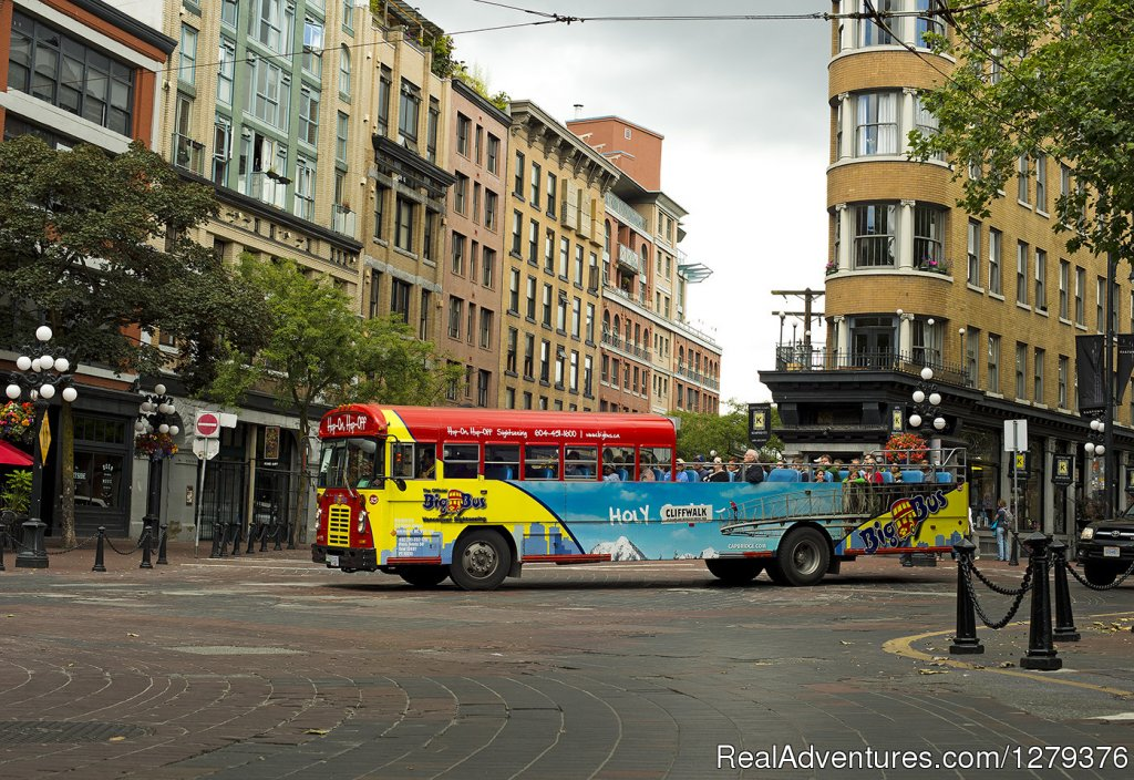 Big Bus in Gastown | Image #7/7 | Big Bus Vancouver