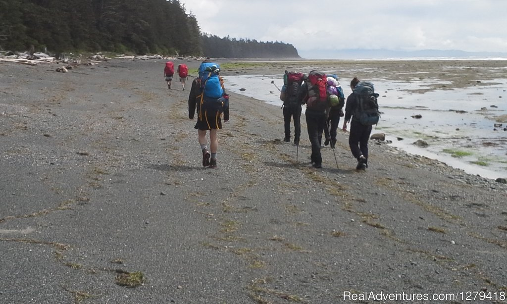 Small group adventure travel and hiking trips in the Coast Mountains and on Vancouver Island. We guide on major coastal trails such as the West Coast Trail and the Nootka Trail as well as in the Sea to Sky corridor from Vancouver to Whistler.