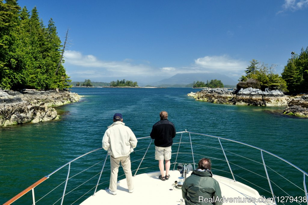 Cruising through the Broken Group Islands | Image #1/24 | Ucluelet, British Columbia  | Wildlife & Safari Tours | Whales, Wildlife & Spectacular Scenery
