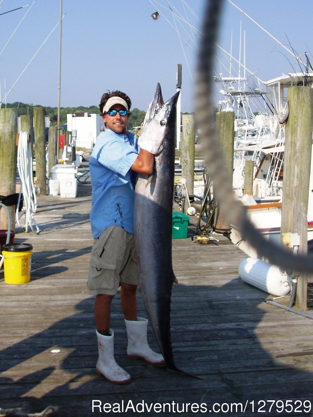 Jeff With 78 Lb. Wahoo