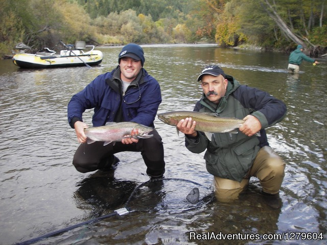 Trinity River Adventures Lewiston, California Fishing Trips