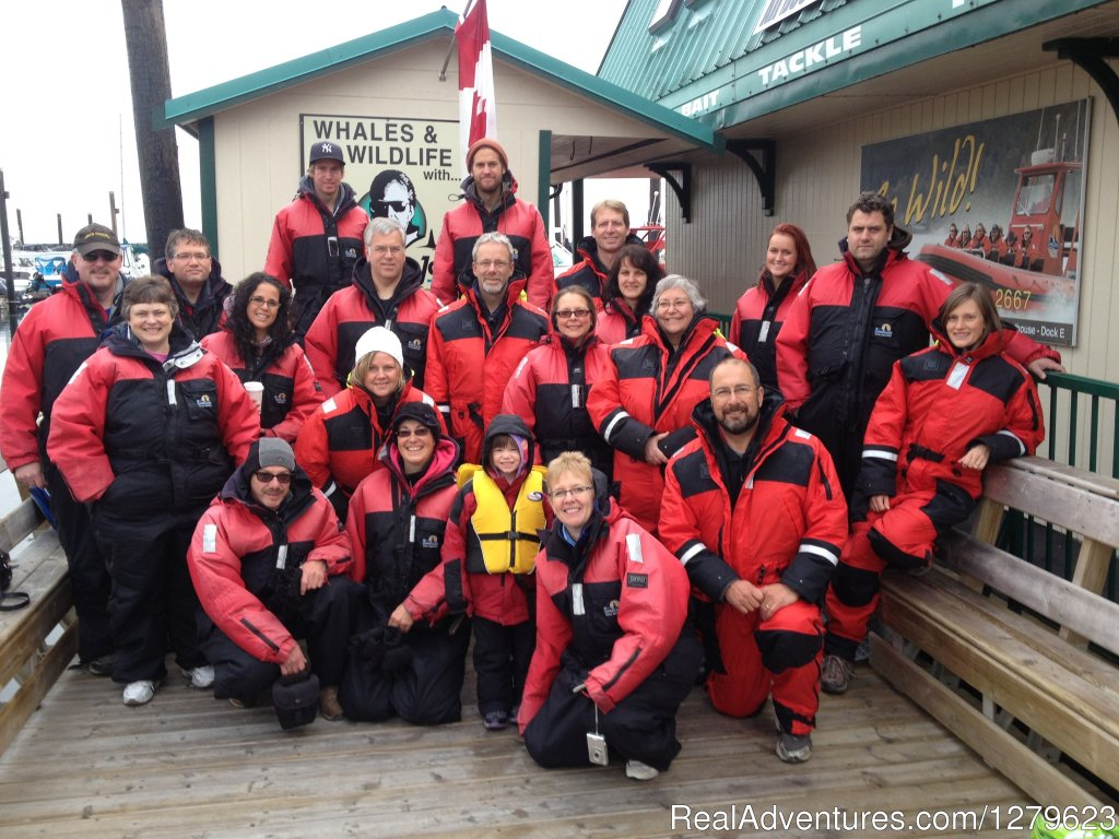 Group outings | Image #1/8 | Campbell River, British Columbia  | Whale Watching | Campbell River Whale Watching & Adventure Tours