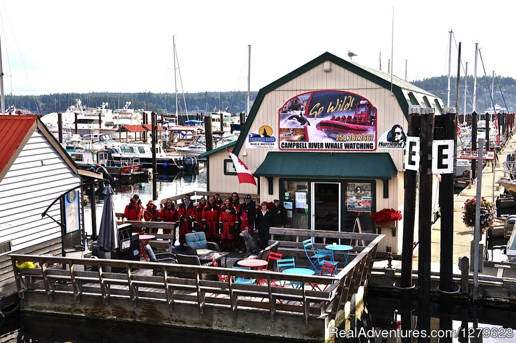 Marine office in Campbell River | Image #7/8 | Campbell River Whale Watching & Adventure Tours
