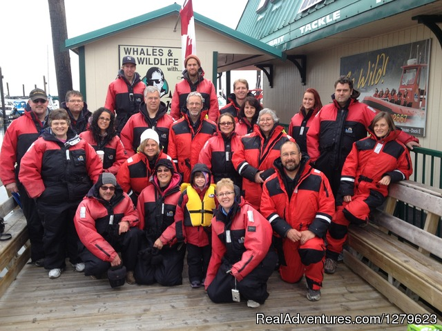 Campbell River Whale Watching & Adventure Tours