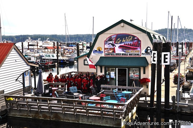 Marine office in Campbell River