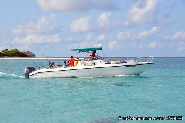 Mahuey Fishing Speedboat: Mahuey 33 Fishin Speedboat