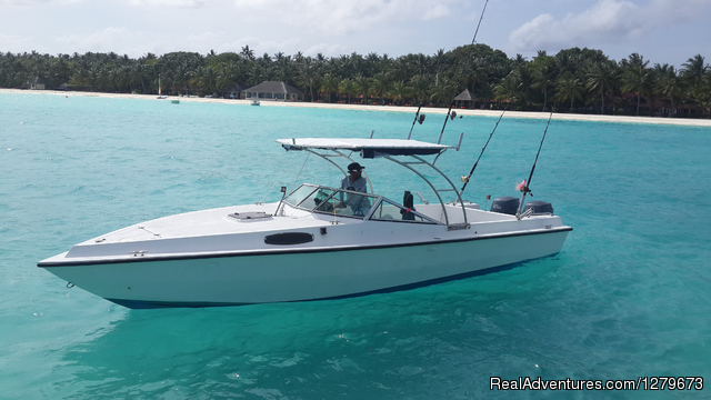 Mahuey 24 Fishing Speedboat - Mahuey Fishing Speedboat