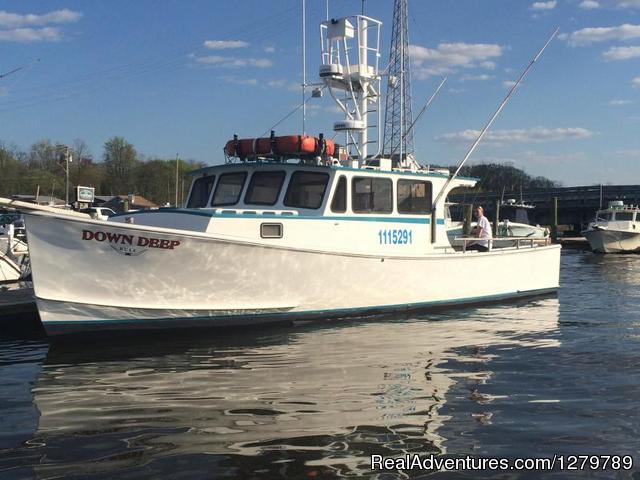 Down Deep Sport Fishing Fleet Fishing Trips Keyport, New Jersey