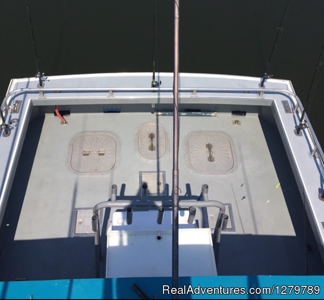 2 Custom built Downeasters with huge wide open cockpits. - Down Deep Sport Fishing Fleet
