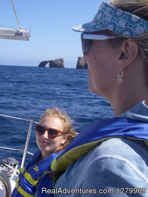Sail Channel Islands Arch Rock visit