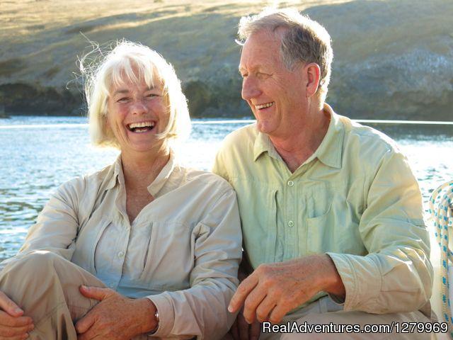 Sail Channel Islands Wanda and Alan on three day cruise