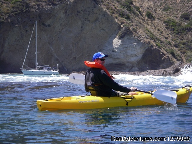 Sail Channel Islands Kayaking at Willows Anchorage
