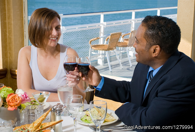 Enjoying a Sunday Brunch - Hornblower Cruises & Events