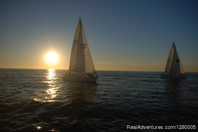 Our most popular sunset sail - Sail San Diego