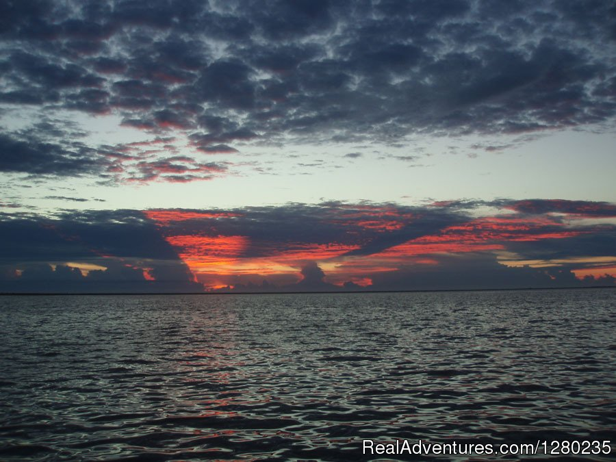 Sunrise on Mosquito Lagoon | Image #2/2 | Capt Karty's Mosquito Lagoon Fishing Guide Service