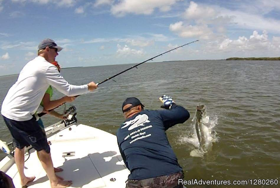Reel Mell-O Sportfishing in the Florida Keys for Tarpon, Redfish, Snook and more. Featured on Reel H2O TV with Roku!