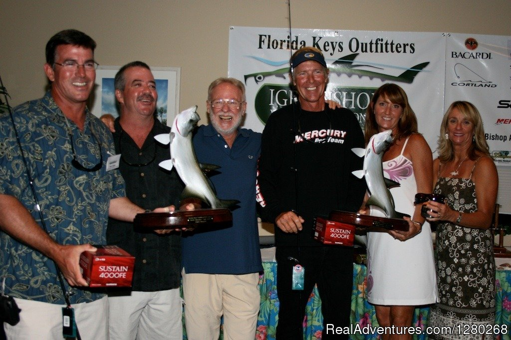 Grand Champion Award ceremony | Image #3/4 | Flats/Backcountry Fishing Guide Fly & Spin