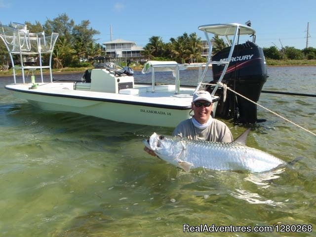 Tarpon caught on fly | Image #4/4 | Flats/Backcountry Fishing Guide Fly & Spin