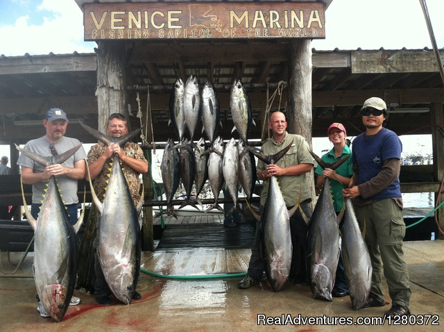 A good days work out of Venice La - We are more than just a 'little crazy' about Tuna