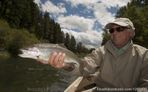 Brazda's Fly Fishing, scenic trout fishing trips. Ellensburg, Washington Fishing Trips